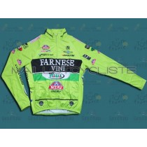 2012 Farnese Vini-Selle Italia Fluorescent  Maillot thermique manches loungues