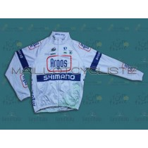2013 Argos blanc Maillot thermique manches loungues