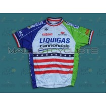 2013 Liquigas US Champion Maillot Cyclisme manches courtes