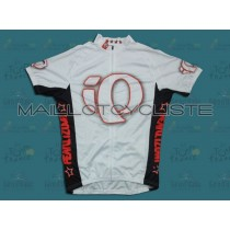 2010 Pearl Izumi Blanc Maillot Cyclisme manches courtes