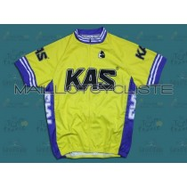 2011 Kas Kaskol  Maillot Cyclisme manches courtes