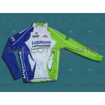 2012 Liquigas Maillot thermique manches loungues