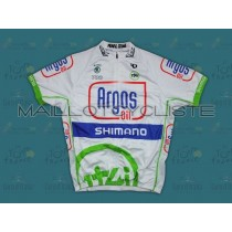 2012 projet 1t4i Argos Maillot Cyclisme manches courtes