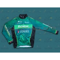 2013 équipe Europcar Vendee Maillot thermique manches loungues