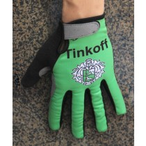 2016 Tinkoff Race vert thermique Gants Cyclisme